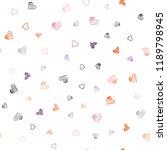 dark pink  red vector seamless... | Shutterstock .eps vector #1189798945