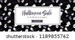 website spooky header or banner ... | Shutterstock .eps vector #1189855762