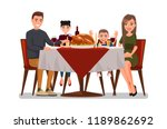 christmas   thanksgiving... | Shutterstock .eps vector #1189862692