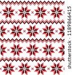 new year's christmas pattern...   Shutterstock .eps vector #1189866415