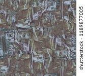 urban modern seamless pattern.... | Shutterstock . vector #1189877005