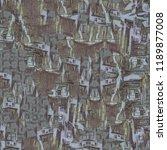 urban modern seamless pattern.... | Shutterstock . vector #1189877008