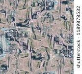 urban modern seamless pattern.... | Shutterstock . vector #1189878532