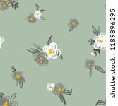 seamless floral pattern....   Shutterstock .eps vector #1189896295