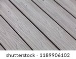 plastic decking boards with... | Shutterstock . vector #1189906102
