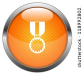 vector button medal | Shutterstock .eps vector #118992802