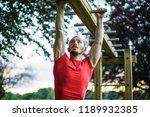 body building monkey bar... | Shutterstock . vector #1189932385