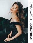 portrait of beautiful woman... | Shutterstock . vector #1189940962