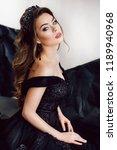 portrait of beautiful woman... | Shutterstock . vector #1189940968