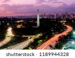 sao paulo sao paulo brazil  ... | Shutterstock . vector #1189944328