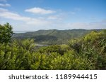 elevated view over the lush... | Shutterstock . vector #1189944415