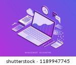 management accounting.... | Shutterstock .eps vector #1189947745