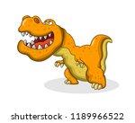 illustration of animal... | Shutterstock .eps vector #1189966522