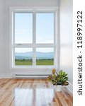 empty room with beautiful view... | Shutterstock . vector #118997122
