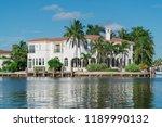 day time exterior establishing... | Shutterstock . vector #1189990132