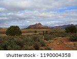 desert landscape of utah from... | Shutterstock . vector #1190004358
