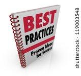 a spiral bound book offers best ... | Shutterstock . vector #119003548
