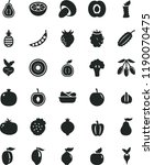 solid black flat icon set... | Shutterstock .eps vector #1190070475