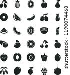 solid black flat icon set peper ... | Shutterstock .eps vector #1190074468