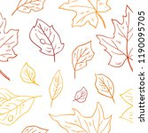 colorful seamless vector... | Shutterstock .eps vector #1190095705