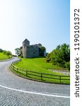 beautiful architecture at vaduz ... | Shutterstock . vector #1190101372
