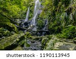 picturesque view of stream of... | Shutterstock . vector #1190113945