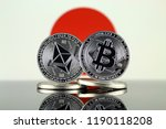 physical version of ethereum ... | Shutterstock . vector #1190118208