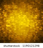 vector gold bright background... | Shutterstock .eps vector #1190121298