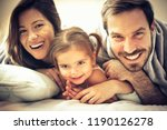 they're one very happy family.... | Shutterstock . vector #1190126278