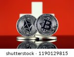 physical version of ethereum ... | Shutterstock . vector #1190129815