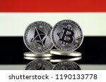 physical version of ethereum ... | Shutterstock . vector #1190133778