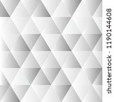 abstract polygon grey graphic... | Shutterstock .eps vector #1190144608
