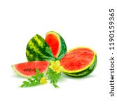 fresh  nutritious and tasty... | Shutterstock .eps vector #1190159365