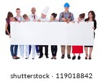 large group of people... | Shutterstock . vector #119018842