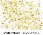 festive glitter rectangle... | Shutterstock .eps vector #1190194318