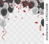 balloons vector illustration.... | Shutterstock .eps vector #1190216038