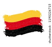 flag of germany  grunge... | Shutterstock .eps vector #1190226715