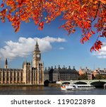 Big Ben With Boat In London ...