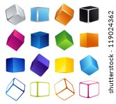 Isolated Colorful 3d Shape...