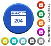browser 204 no content round...   Shutterstock .eps vector #1190275852