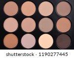 natural brown matte eye shadow... | Shutterstock . vector #1190277445