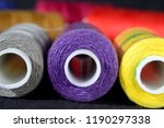 color coils of thread close up... | Shutterstock . vector #1190297338