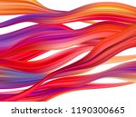 modern colorful flow poster.... | Shutterstock .eps vector #1190300665