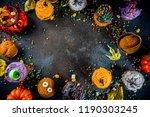 funny children's treats for... | Shutterstock . vector #1190303245