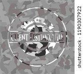 client testimonials grey... | Shutterstock .eps vector #1190307922