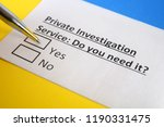 private investigation service   ... | Shutterstock . vector #1190331475