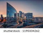 la defense  business district... | Shutterstock . vector #1190334262