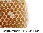 yellow honey background | Shutterstock . vector #1190341135