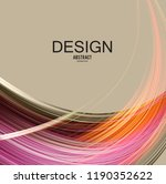 abstract vector background....   Shutterstock .eps vector #1190352622