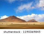 stunning landscape of the... | Shutterstock . vector #1190369845